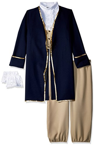 Charades Child's George Washington Costume, NA, Large -