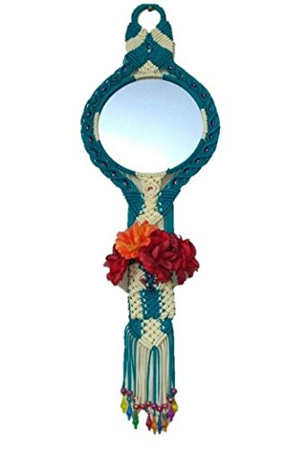 Home Decorative Items Handmade Mirror Wall Hanging Amazon In Home Kitchen