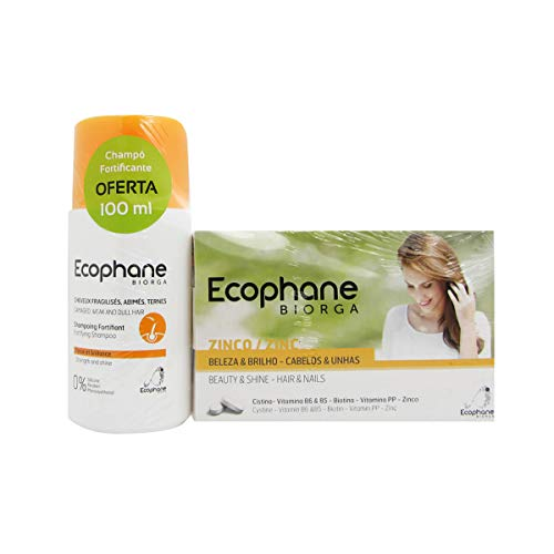 Ecophane Pack Ecophane Hair And Nails 60caps + Fortifying Shampoo 100ml