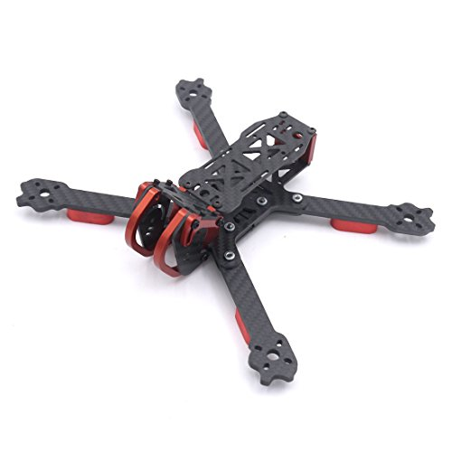 LEACO Fnatic FNC230 230mm 5 inch HX and Truex Carbon Fiber Frame Quadcopter FPV Racing Drone ()