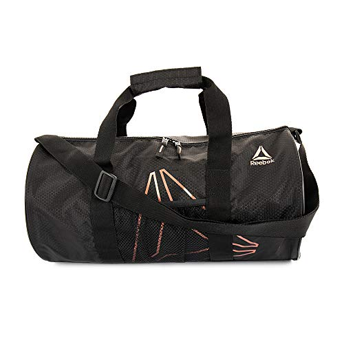 Reebok Plyo Small Gym Bag for Men and Women, Compact Sports Duffle Bag