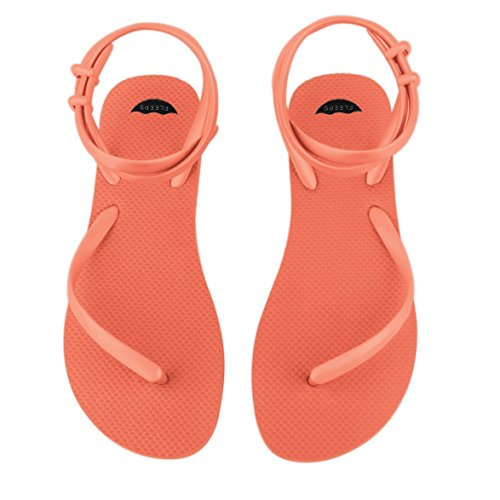 Orange Flip Wedding Sandal Perfect Costa Ankle Insanely Handmade Sandals Flops Crush Beach Summer In With Sandals Gladiator Rica Flops or Sandals Comfortable Strap WomenÕs Flip FLEEPS HpRqtt