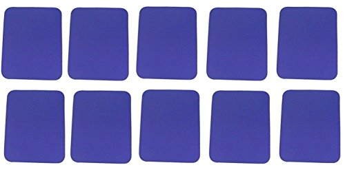 Belkin 10-Pack Blue Standard Mouse Pad (F8E081-BLUE)