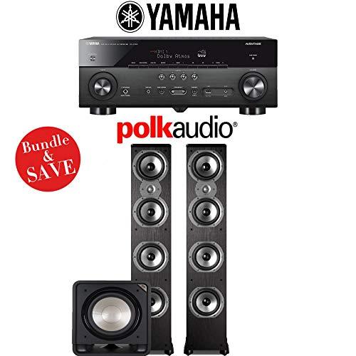 Yamaha RX-A780 AVENTAGE 7.2-Channel AV Receiver + Polk Audio TSi 500 + Polk Audio HTS12-2.1-Ch Home Theater Package