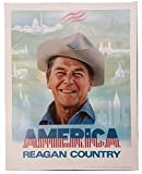 President Ronald Reagan America is Reagan Country Classic Campaign Poster