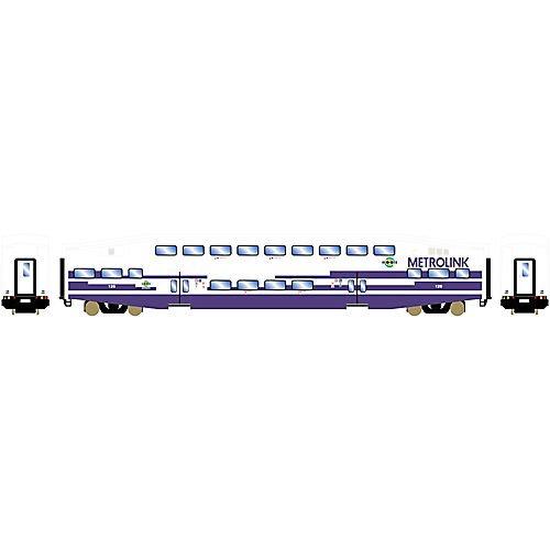 Athearn ATH25953 HO RTR Bombardier Coach, Metrolink #126