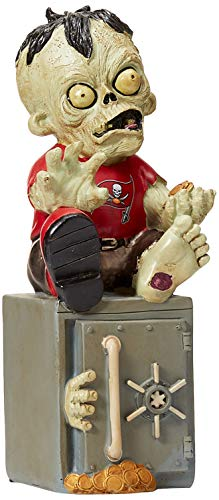 Tampa Bay Buccaneers Resin Zombie Bank