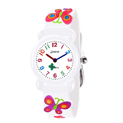 Price comparison product image Party Gifts for 2-8 Year Old Girls, TOPTOY Kids Wrist Watches 3D Cute Cartoon Waterproof Sport Silicone Gifts for 2-8 Year Old Girls Party Favors for Kids Christmas stocking stuffer stocking fillers TTUSKW8