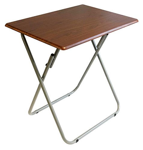 Wee's Beyond 1306 Over-Sized TV Tray Folding Table, Cherry by Wee's Beyond (Image #1)'