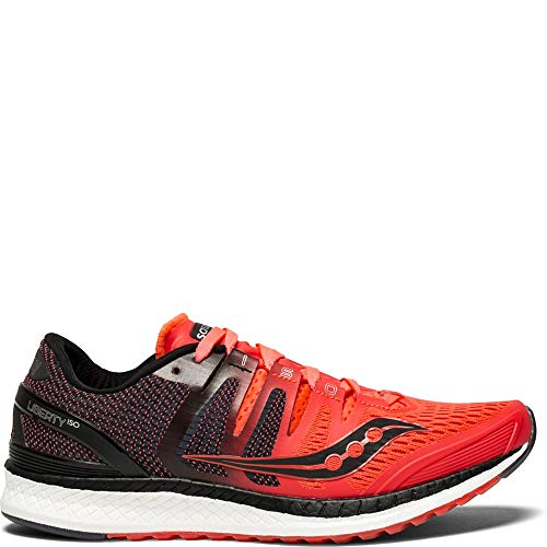 Saucony Liberty ISO Women 7.5 ViZiRed | Black
