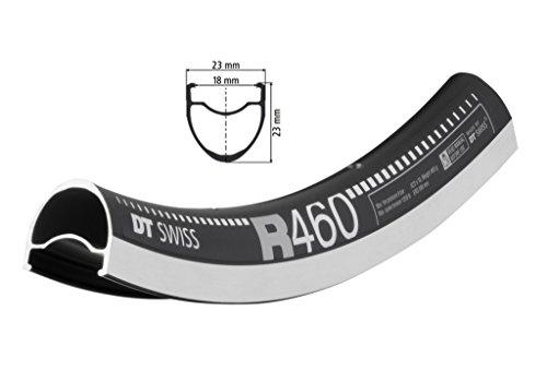 Dt Swiss Rims - DT Swiss R 460 700C Black 24-H 622 x 18 ETRTO
