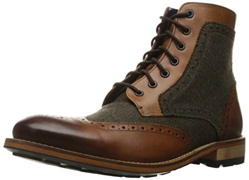 Tan Wool Boots - Ted Baker Men's Sealls 3 Winter Boot, Tan/Brown Wool, 13 M US