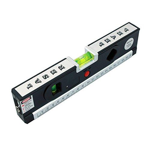tbteek-multipurpose-line-laser-level-laser-measure-self-leveling-5ft-15m-measure-tape-ruler-adjusted