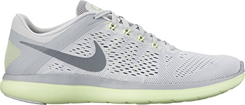 Nike Wmns Flex 2016 Rn, Sneakers para Mujer gris claro