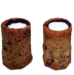 Eatable Dessert Shot Glass PBA Free Food Grade Silicone Mold Creates Frozen Treats Chocolate Mousse, Brownie Cups, Kahlúa shots, Patron shots, Jell-O shots, Kamikaze Shots Dishwasher and Oven Safe