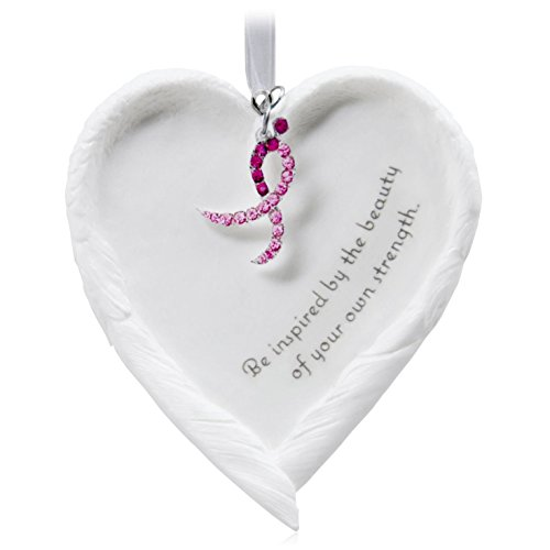 Beautiful You Angel Wings Porcelain Ornament benefiting Susan G. Komen 2015 Hallmark