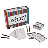 What? Party Game - Answer Silly Questions & Guess Who Said What - The Ultimate Laugh Out Loud Board Game (Features 288 Questions, Ages 18+)