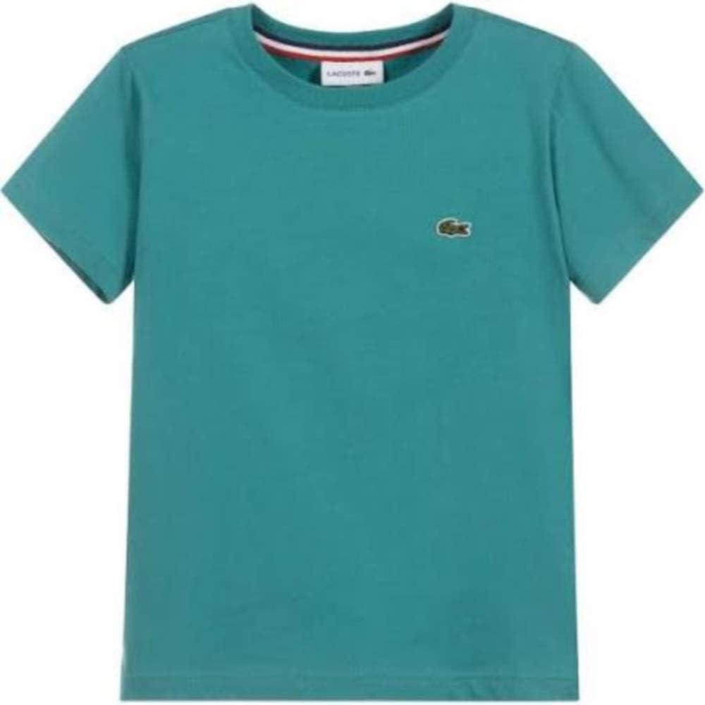 Verde Maglietta da Ragazzo Lacoste Summer 2020 Colore