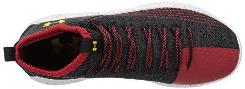Armour Chaussures Seeker Under Black Heat Ua Homme red taxi De Basketball dww6aq