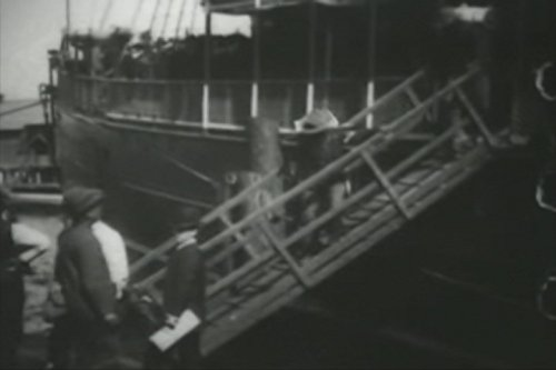 Colored Troops Disembarking (Steamer Port)