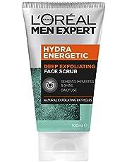 L'Oréal Paris Men Expert Hydra Energetic Unclogging Pore Scrub 100ml