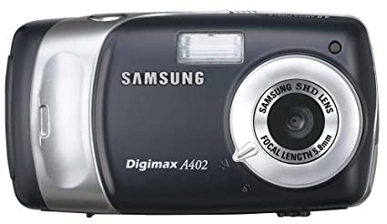 amazon com samsung digimax a402 4mp digital camera with 4x digital rh amazon com Samsung Digital Camera Review Samsung Digimax A6