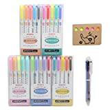 ZEBRA MILDLINER 25 Color Complete Set - Double-Sided Highlighter Pens For Highlighting, Note Taking And Coloring – Easy On The Eyes, Chisel and Fine Tip, Assorted Colors (Color: Mild Pink, Mild Yellow, Mild Blue Green, Mild Blue, Mild Orange, Mild Red, Mild Green, Mild Dark Bl)