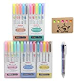 ZEBRA MILDLINER 25 Color Complete Set - Double-Sided Highlighter Pens For Highlighting, Note Taking And Coloring – Easy On The Eyes, Chisel and Fine Tip, Assorted Colors