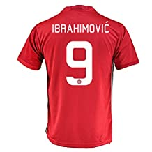 #9 Zlatan Ibrahimović Manchester United FC Home Soccer Jersey + get Mr. Sport box as a GIFT