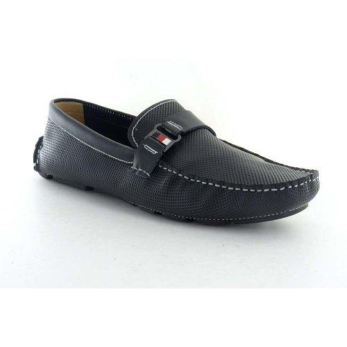 New Avva Siyah Mens Mocassini Comfort Shoes Nero 45 11 M