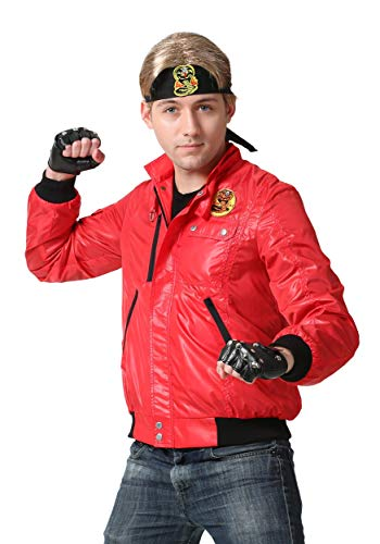 Adult Karate Kid Red Cobra Kai Jacket
