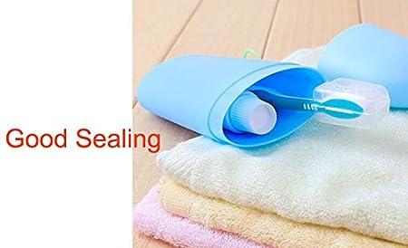 Bolsa portátil protectora para cepillo de diente y pasta , colores ...