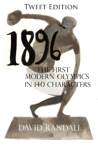 1896 - The first modern Olympics Tweet edition
