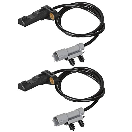 AUTEX 2PCS ABS Wheel Speed Sensor Rear Left & Right ALS1401 For 2006-2010 Jeep Commander 3.7L 4.7L 5.7L/2005-2010 Jeep Grand Cherokee 3.7L 4.7L 5.7L 3.0L 6.1L