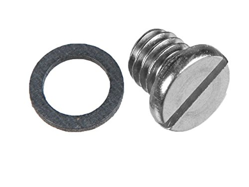 (Boating Accessories New Oil Drain Plugs/gaskets/washers Sierra 18-2244 Fits Mercury/Mercruiser #1/MR/R/Alpha/Alpha I Gen II Upper & Lower Units. OEM #10-79953A2 10-79953Q2 Drain Screw Drain Screw)