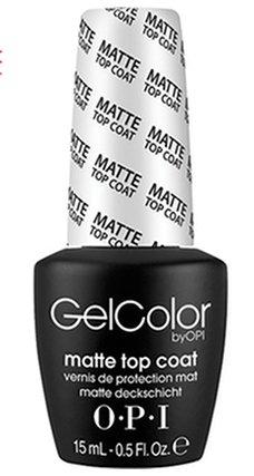 OPI Gelcolor Matte Top Coat GC o31