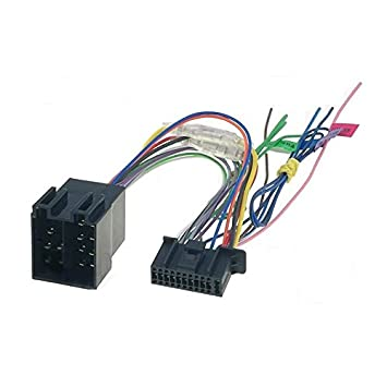 41S5EB63BtL._SY355_ iso wiring harness car stereo radio connector adapter amazon co car wiring harness manufacturer uk at virtualis.co