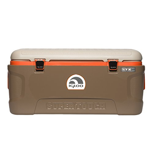 - Igloo Super Tough STX Sportsman 120-Quart Cooler