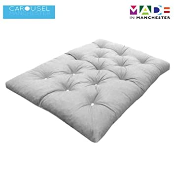 Triple 3 Seater Memory Foam Futon Mattress Roll Out Bed