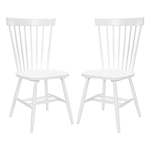 Safavieh Joslyn Dining Side Chairs - White - Set of 2