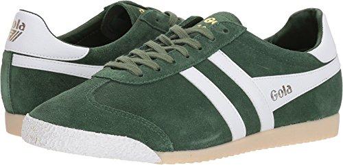 Gola Men Footwear Sneakers - Gola Men's Harrier 50 Suede Sneakers | Green/White - 11