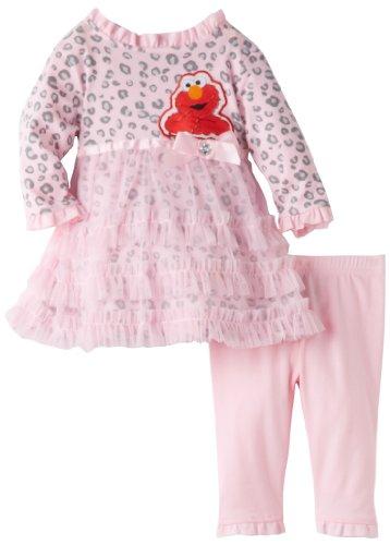 Sesame Street Baby Girls Newborn Piece