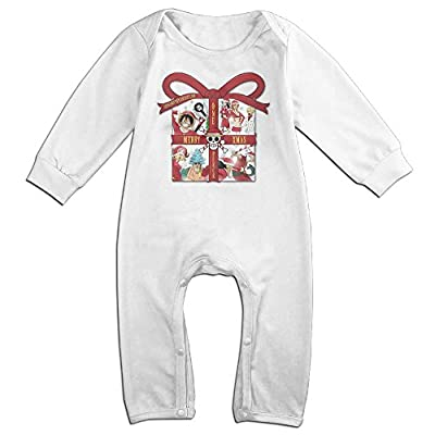 Yours One Piece Merryxmas For 6-24 Months Baby Custom T Shirt White