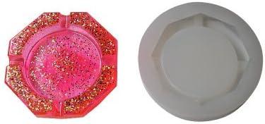 Big Rhombus Shape Ashtray Polymer Clay Silicone Mold,Crafting,Resin Epoxy Making DIY Decoration Tools,Semi-Transparent