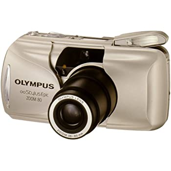 Olympus Stylus Epic Zoom 80 QD CG Date 35mm Camera