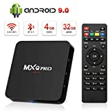Android 9.0 TV Box, Leelbox 2019 Update Android TV Box 4GB RAM 32GB