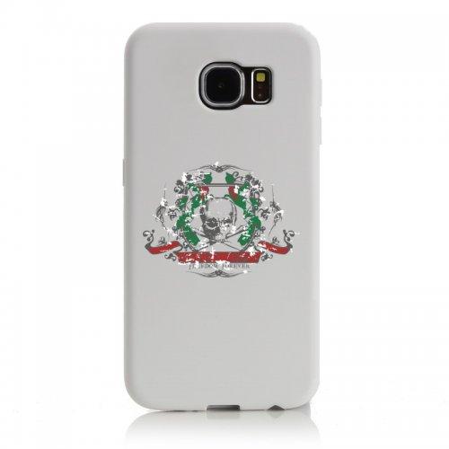"Smartphone Case Apple IPhone 7 ""feeling freedom forever Music Rock n Roll Rocker Bike Auto Reise Travel Palmen 80er 90er"" Spass- Kult- Motiv Geschenkidee Ostern Weihnachten"