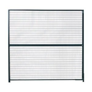WireCrafters 48RW RapidWire Welded Steel Wire Mesh Panel, 4' Width x 8' Height, Gray