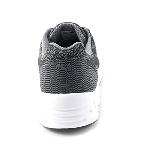 Freizeit Puma Schuhe Herren Schwarz Grau Sneaker Woven R698 rpqqRI4