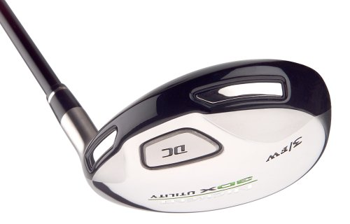Nickent 3DX DC Utility (Left-Handed, 5-19 degree with regular graphite Speed Rated 2 shaft) by Nickent (Image #3)